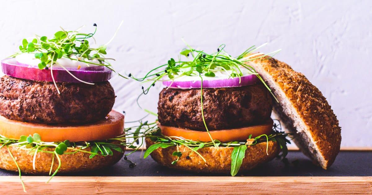 Homemade Burgers with Italian Herbs | The Real Food Geek
