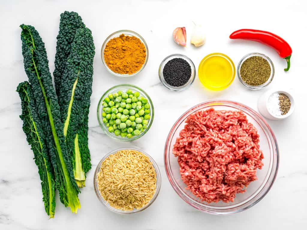 Spiced lamb lettuce wraps ingredients