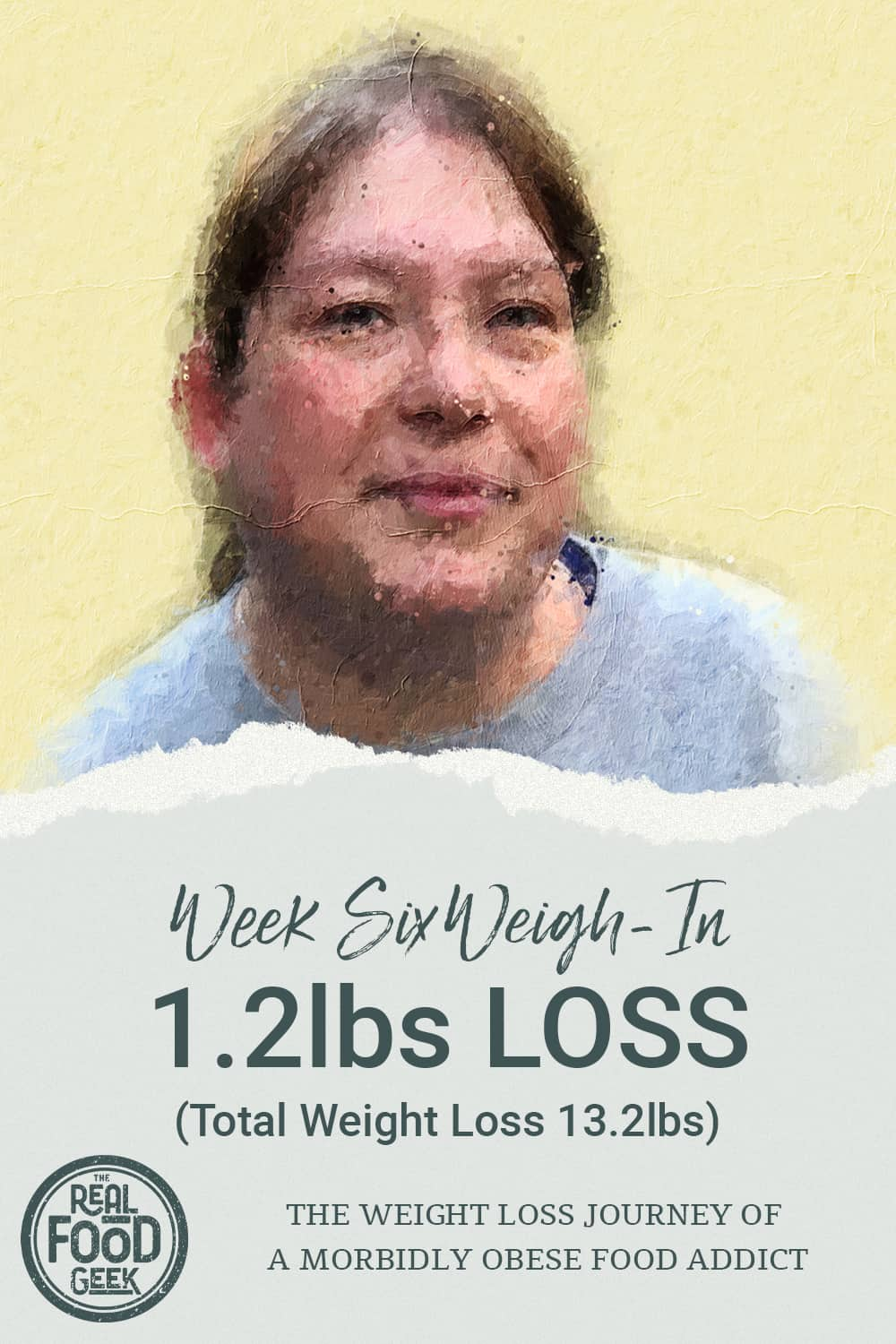 weight loss stats from week six weigh-in