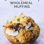 One Coconut Blueberry Wholemeal Muffin